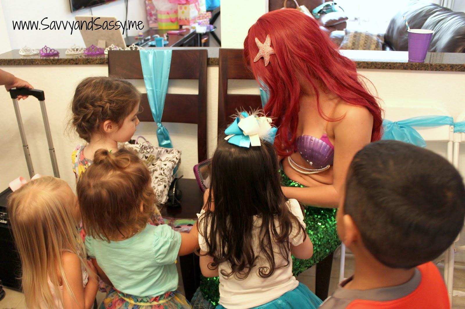 Savvy And Sassy A Mermaid Under The Sea 3rd Birthday Party