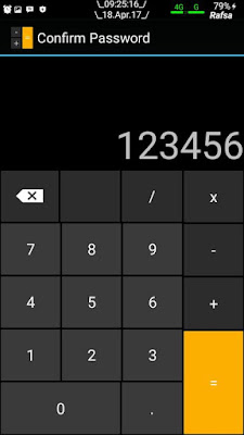 Cara Menyembunyikan File di Android dengan Kalkulator