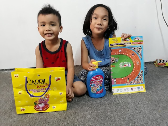 Sporting Fun With The Carrie Junior 'Sukan Ria' Collection!