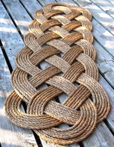 21 Nautical Rope Decor Amp Craft Ideas Coastal Decor Ideas