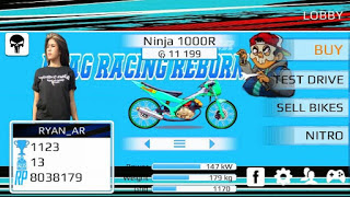 Drag Racing Bike Mod Indonesia EVO 4 3Inchi Special Edition