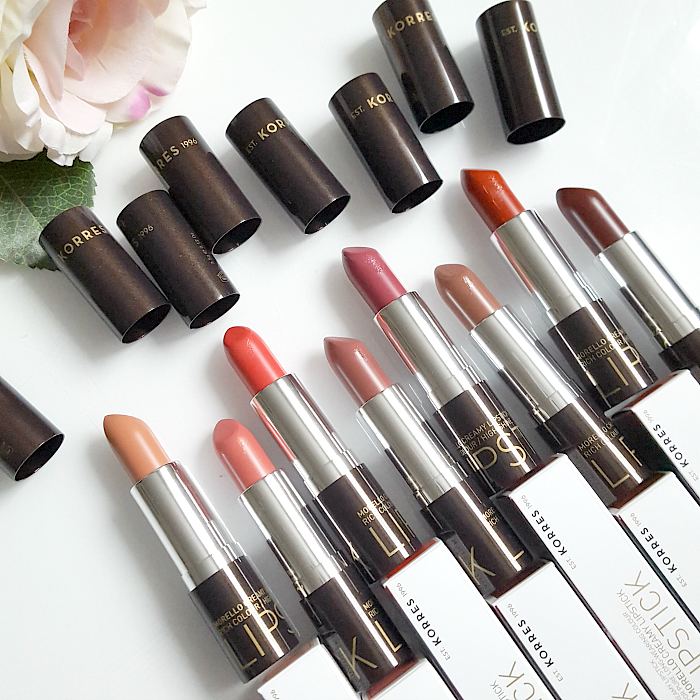 KORRES - Morello Creamy Lipsticks - Review, Swatches, Erfahrungen, Beauty Blogger