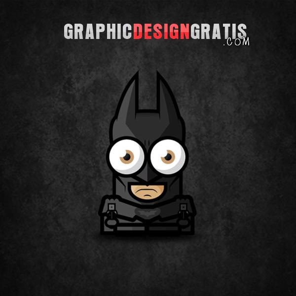 Illustraciones en photoshop de Superheroes Gratis