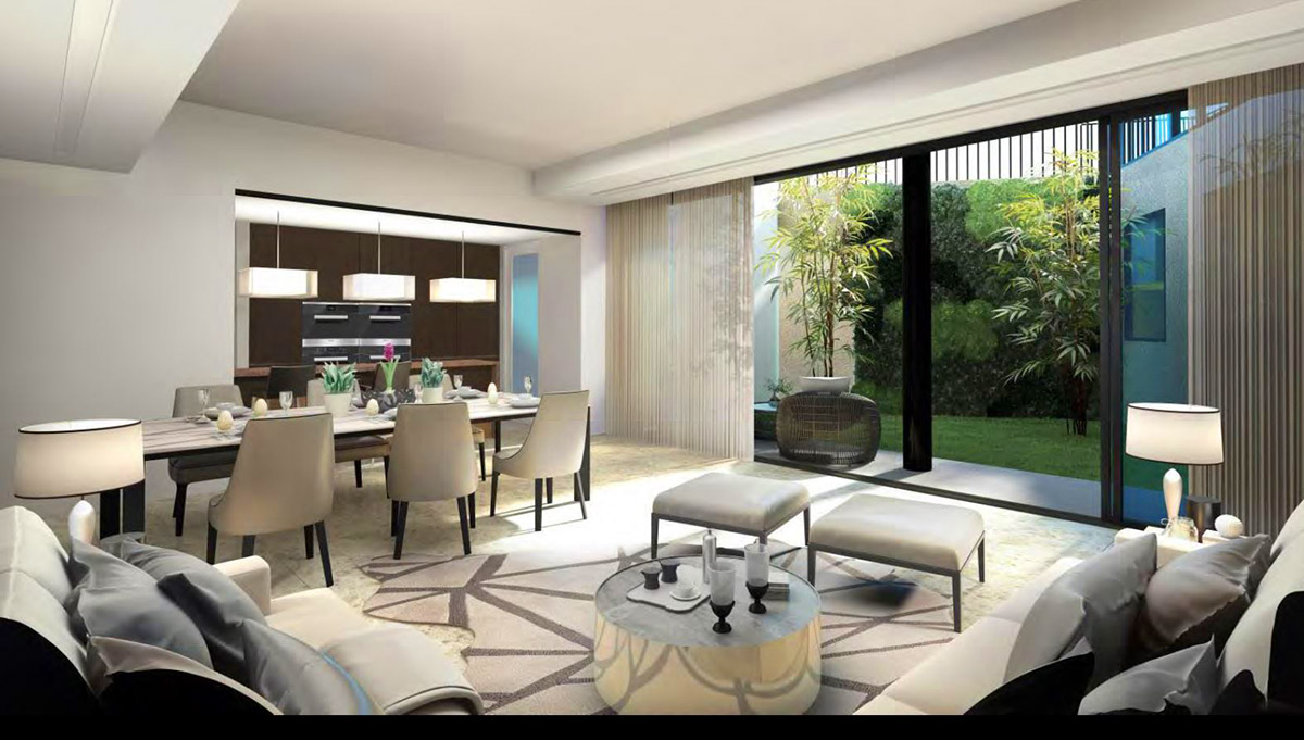 entertainment room victoria park villas