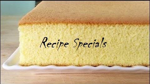 Castella Cake, Honey Cake