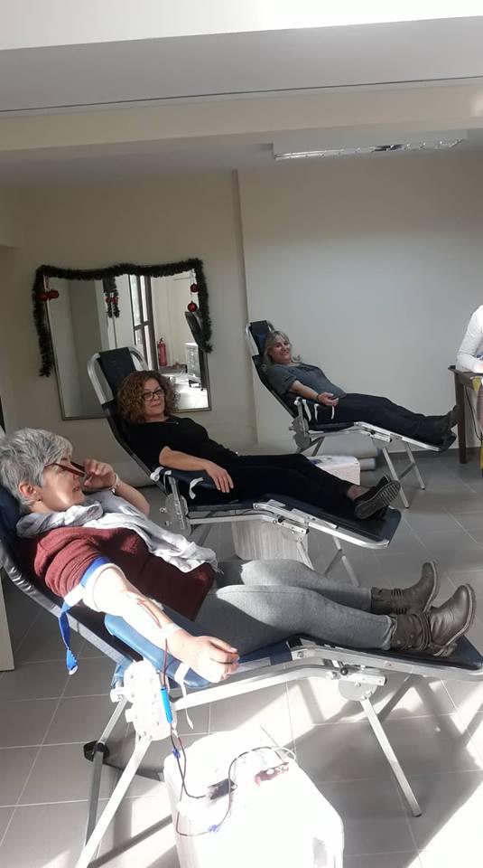 Με επυτυχία ολοκληρώθηκε η εθελοντική αιμοδοσία στα Νέα Ρόδα