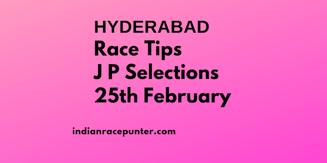 Hyderabad Race Tips 25 February, Trackeagle, Track eagle.
