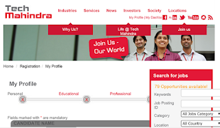 Angular JS Interview at Tech Mahindra for Multiple Locations