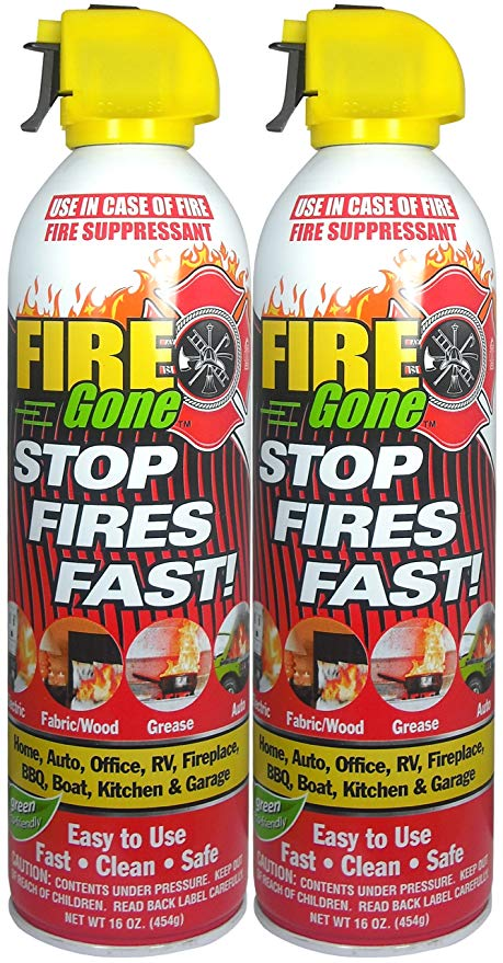 Fire Gone Suppressant Canisters