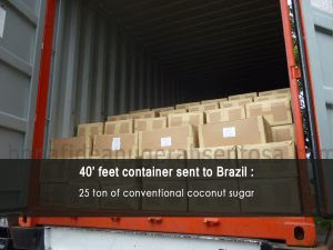 coconut sugar manufacture