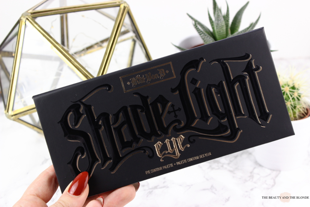 Kat von D Shade and Light Eye Palette Review Swatches Packaging