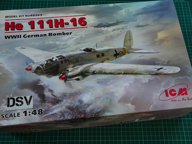 ICM 1//48 Heinkel He-111H-3 Romanian Air Force WWII Bomber nº 48266