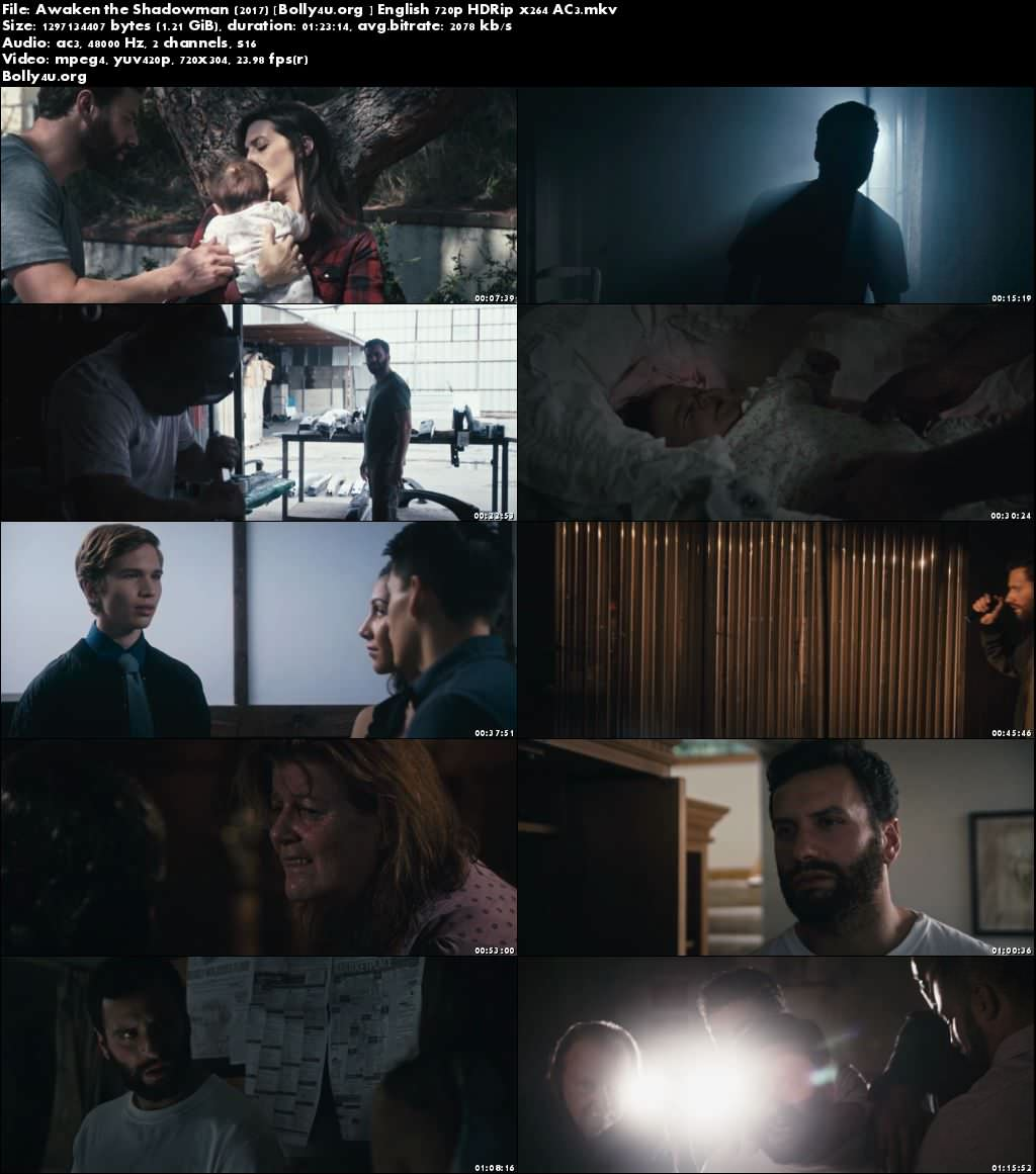 Awaken the Shadowman 2017 HDRip 720p English Movie x264 AC3 Download