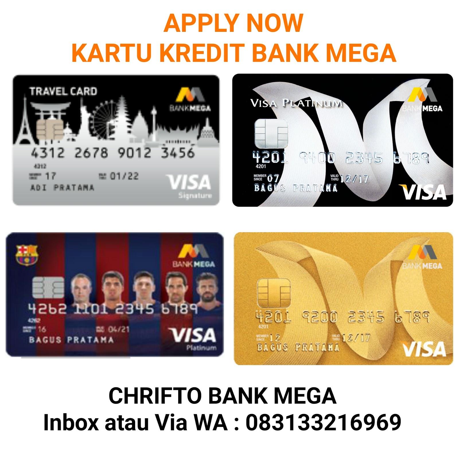 Apply Now Kartu Kredit Bank Mega Buat Sekarang Kartu Kredit Bank Mega