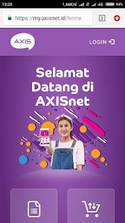 Axisnet terbaru
