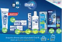 Logo Oral-B e Az solo da Acqua&Sapone ti regalano un buono spesa da 30€ come premio certo!
