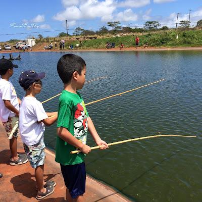 Hawaii mom blog happy blogiversary top 10 posts 50 for Moana fishing pole