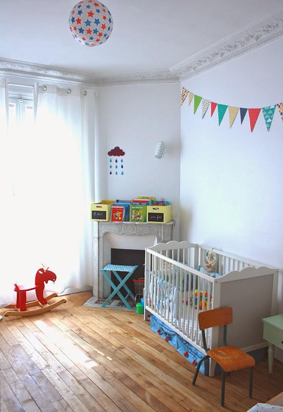 Cuarto dormitorio bebé