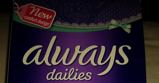 Always Dailies Fresh and Protect Normal Pantyliners Review