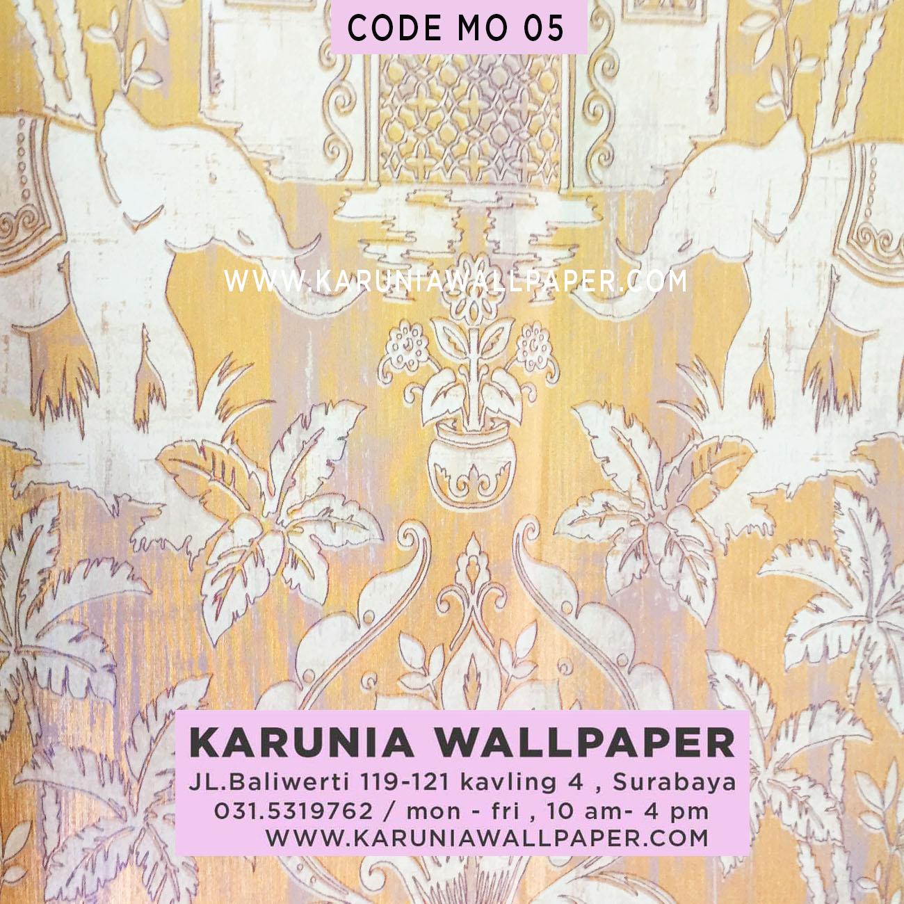 jual wallpaper dinding gajah thailand