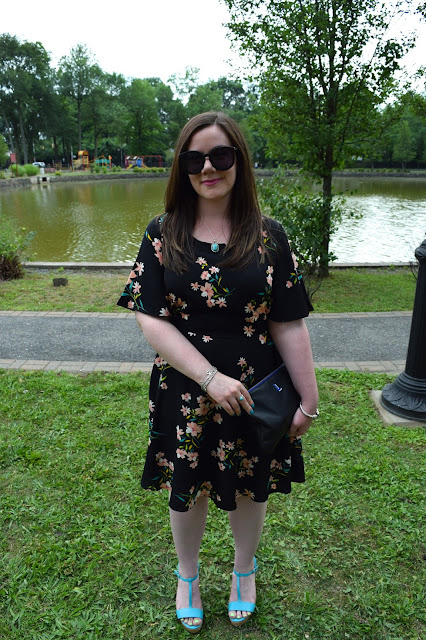 Sequins and Skulls: Garden Glam Dress