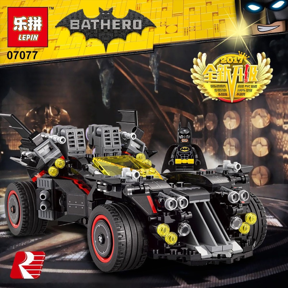 Downtheblocks Lepin 07077 TLBM The Ultimate Batmobile
