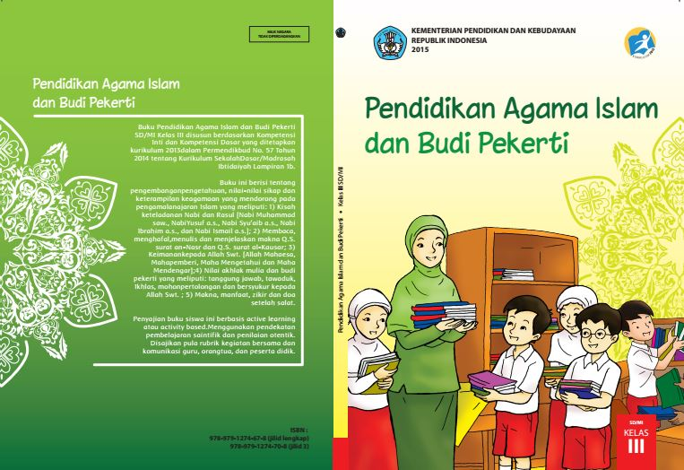 Download Gratis Buku Guru dan Buku Siswa Pendidikan Agama Islam dan Budi Pekerti SD Kelas 3 Kurikulum 2013 Format PDF