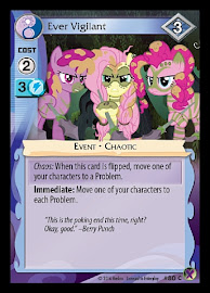 MLP Ever Vigilant Marks in Time CCG Card