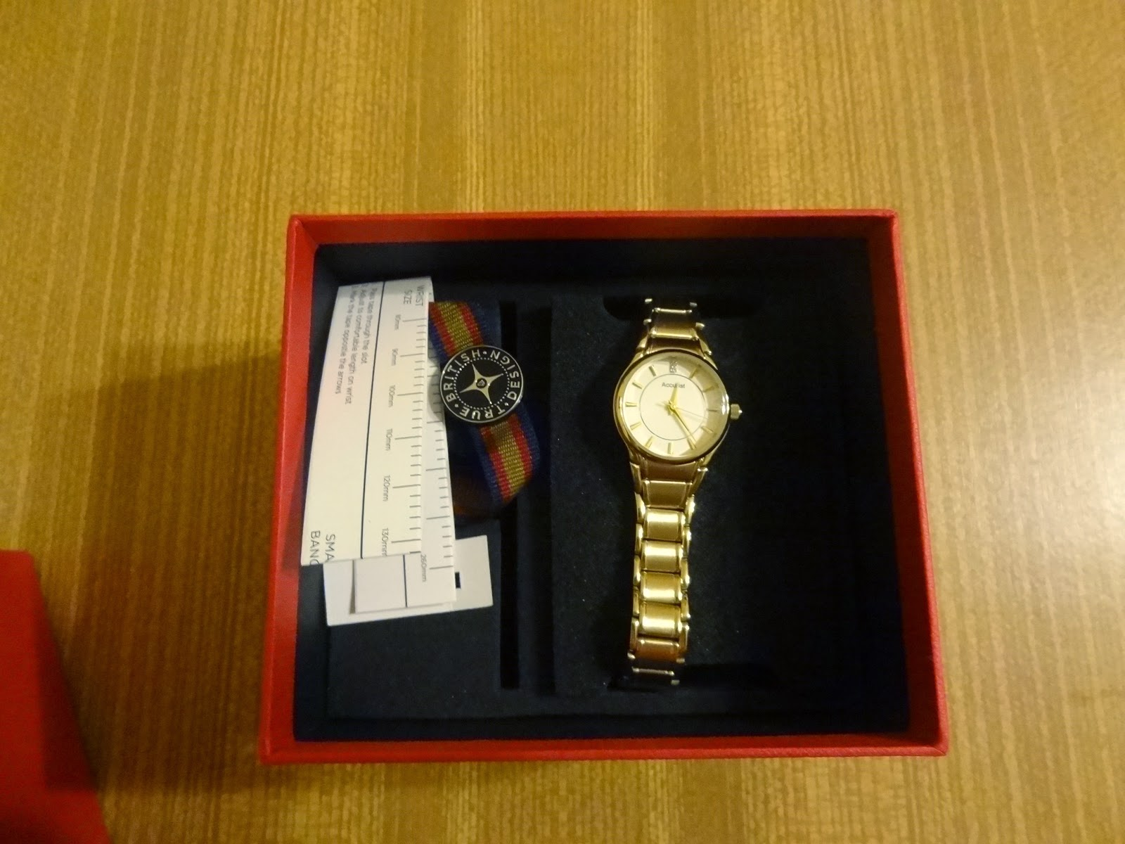 Accurist LB1864W ladies watch