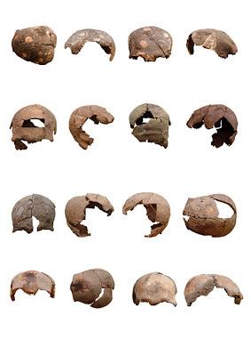 Siria stone age skulls