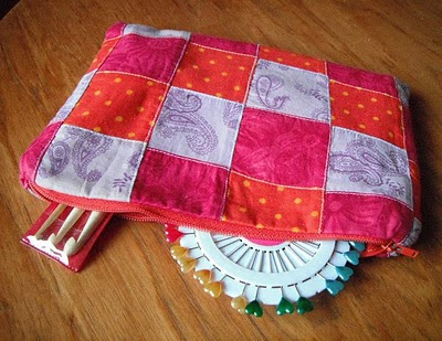zippy handmade bag