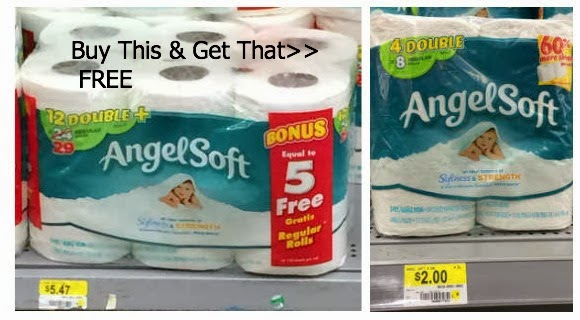 Angel Soft BOGO Deal at Walmar...