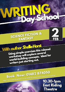 Writing Day School: East Riding Theatre 01482 874050