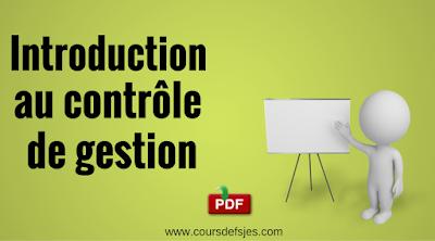 Introduction au contrôle de gestion
