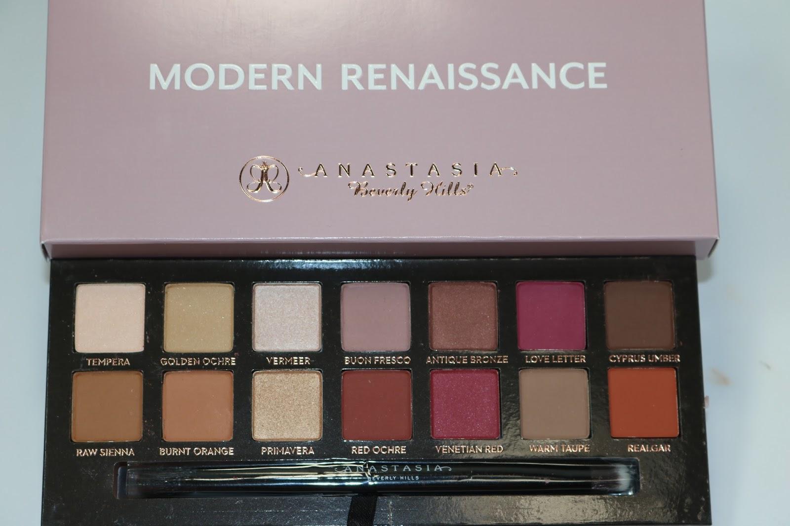 Anastasia Beverly Hills Modern Renaissance palette