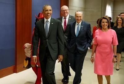 Presidente Barack Obama llamó a los congresistas demócratas a luchar para salvar el Obamacare. | Foto: AP