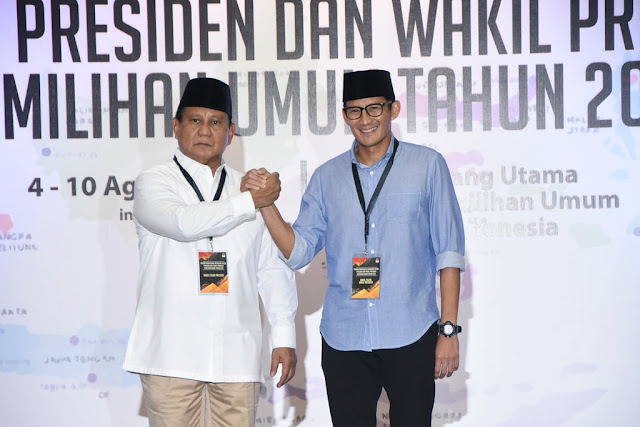 Peluang Prabowo – Sandiaga Menang Lebih Besar