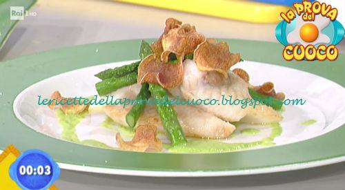 San pietro alla mugnaia con asparagi al burro ricetta Scarpa da Prova del Cuoco
