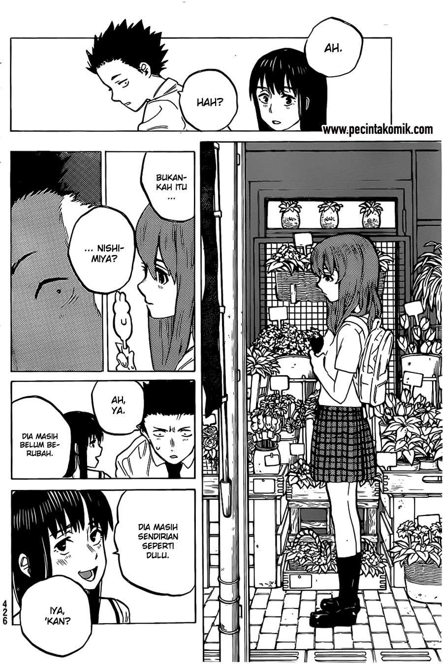 Koe no Katachi Chapter 20-19