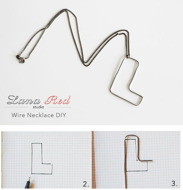 iniciales, alambre, wire, manualidades, bisutería, diys