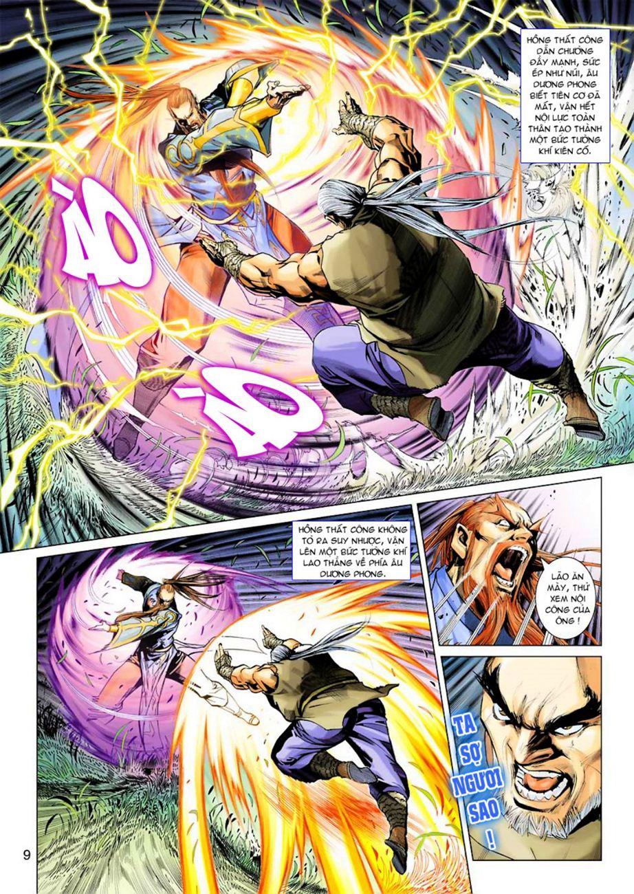 Anh Hùng Xạ Điêu anh hùng xạ đêu chap 45 trang 9