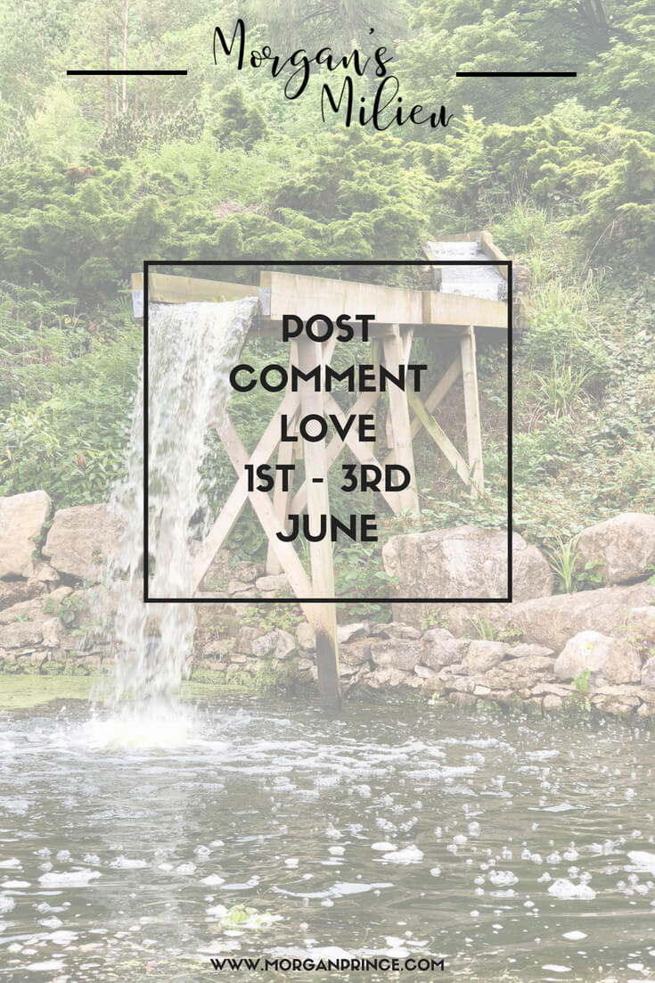 Join Stephanie and I for Post Comment Love 1st - 3rd June - link up your best post of the week!