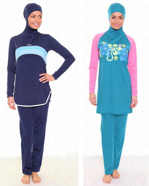 baju renang muslimah elzatta