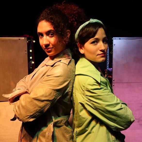 Irene Mariné e Ines Albá 2 de las actrices de la obra