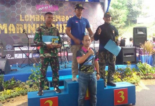 Petembak Yonif Raider 323 Kostrad Raih Juara Tembak Marinir Cup
