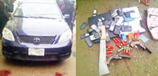 armed robbery isolo lagos