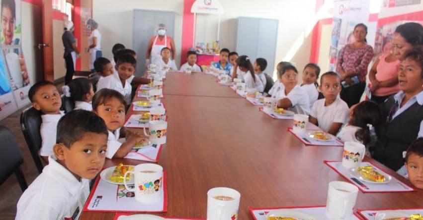 QALI WARMA: Más de 40 mil niñas y niños de Tumbes reciben diariamente nutritivos desayunos - www.qaliwarma.gob.pe