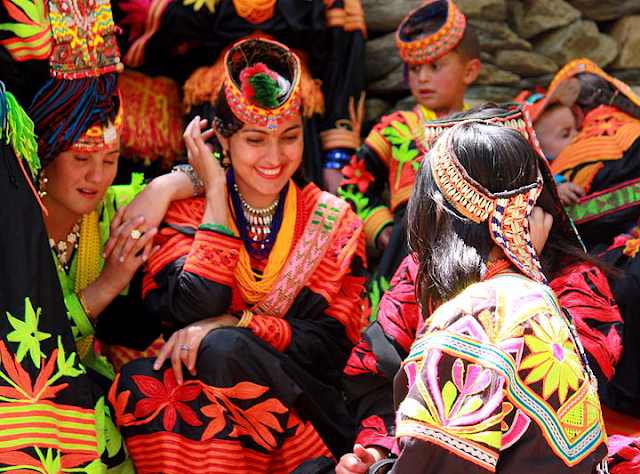 Kalash Women Traditional Clothing