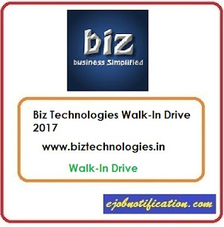 Biz Technologies Walk-In Andriod Developer jobs in Mumbai 03rd-24th Nov'2017