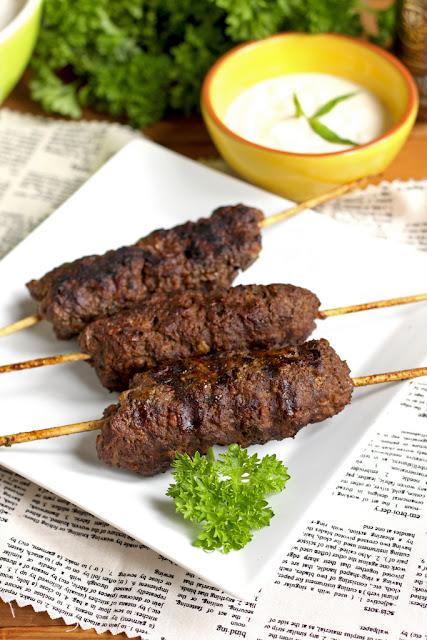 mięso mielone, kebab, kuchnia arabska, kofta, kefta, kafta,